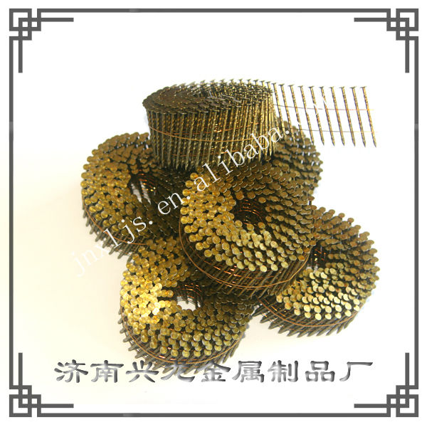 Dome Head Screw Shank Roofing Coil Nails
