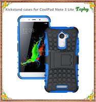 Best sales Mobile Phone Case pc tpu Blue Hybrid Case For Coolpad Note 3 Lite