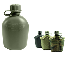 Military Style 1L Plastic Water Bottle Canteen