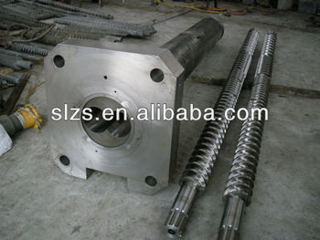 Parallel Screw and Barrel for Extruder Machine