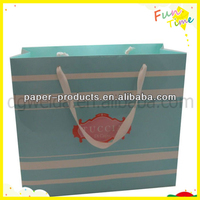 2014 New Products Shopping Paper Bags, Cheap Bags With Strong Folding For Shopping
