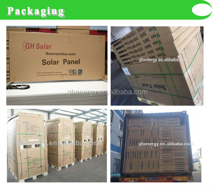 poly Panel Solar 250w 260w 270w solar Panel Manufacturers in china