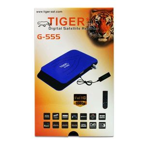 Wholesale Tiger Digital Satellite Receiver G555 FTA Mini HD Box Support 3G