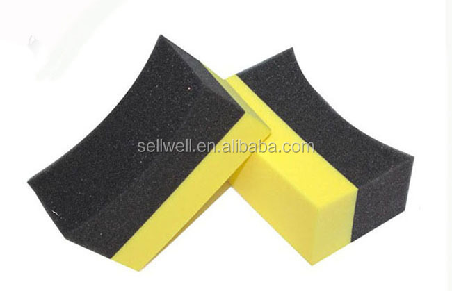 Universal car wax applicator sponge cleaning sponge auto sponge