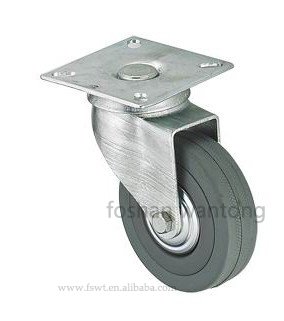 Ball Bearing Adjustable Furniture Caster 75mm Small Casters Wheel