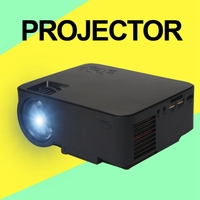 Best price mini wifi projector for home theater, support HDMI