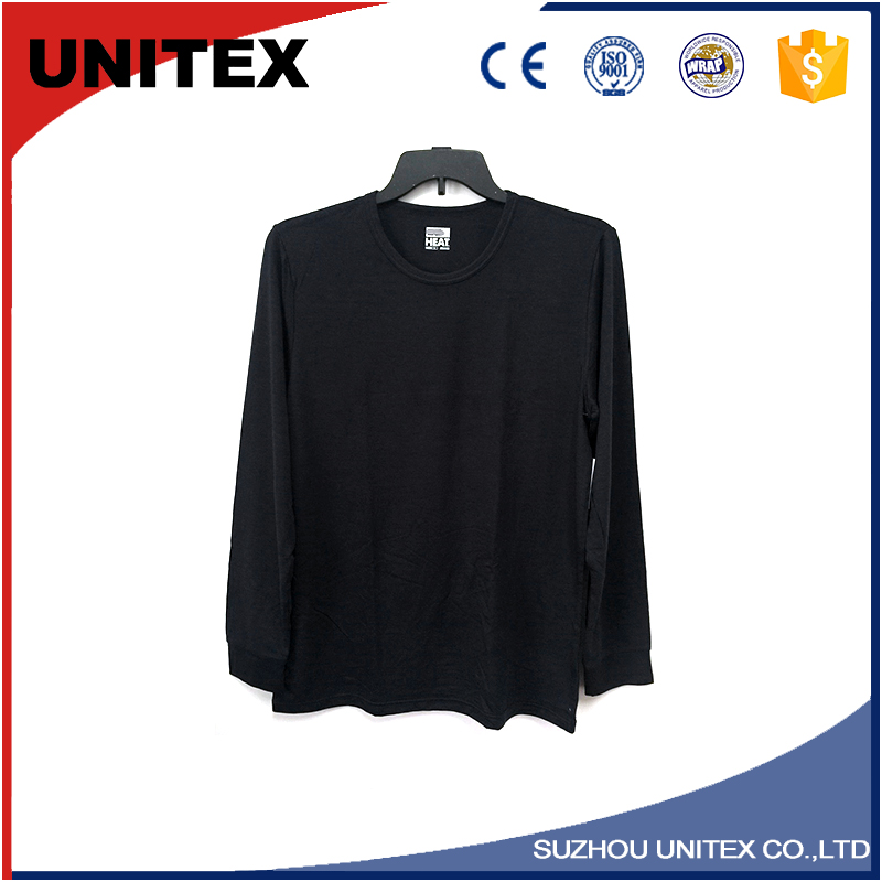Comfortable long tee mens shirts