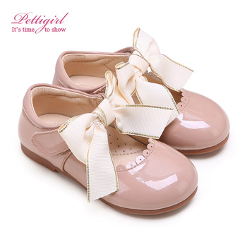 Bontique Baby Fashion Shoes Wholesale Princess Girls Shoes Baby Kids Shoes GS909-01CM