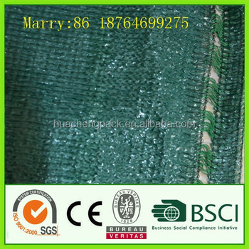 High Quality Agriculture HDPE Shade net with hole