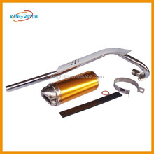 Hot sale Gold pit bike exhaust Fit for motorcycle dirt bike