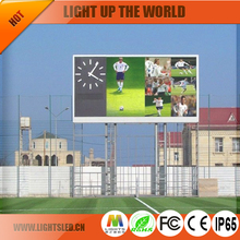 Outdoor Advertising Board P6 LED Panel Scrren LED Display Advertising Boards at Stadium
