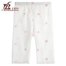Senbodulun 100% Cotton Gauze Fabric For Baby Pants Newborn Baby Summer Clothing