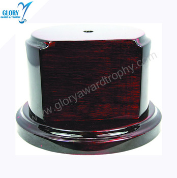 Wholesale High quality Solid wood trophy base