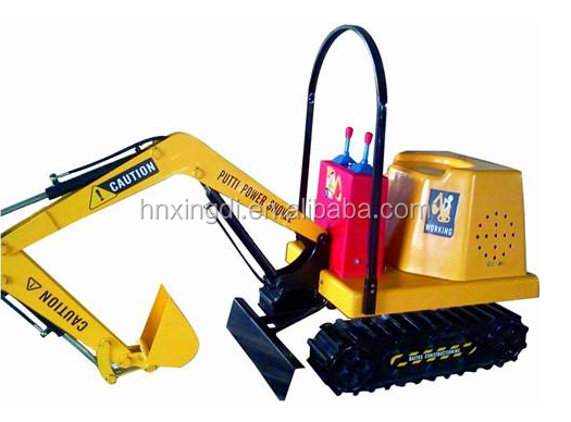 2016 New and hot electric kids excavator toy rc construction amusement pack games