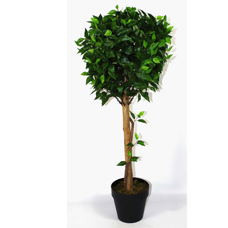 Nearly Natural UV Resistant Bushy Artificial Ficus Tree