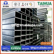 Building material schedule 40 black welded iron galvanized square hollow section steel pipe