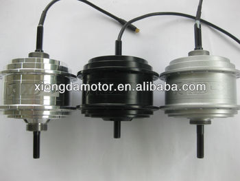 Great Power Energy Saving Double-speed BLDC E-bicycle Hub Motor