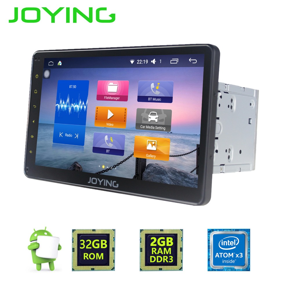 10.1inch Multi-touch Screen Android 6.0 Car DVD Player for Entertainment GPS Navigation Best Aftermarket 2DIN Auto Radio