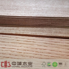 Selling natural veneer price for laminate mdf face red oak wood veneer