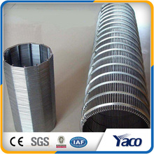 304Stainless steel wedge wire screen Mine Sieving Mesh sand sieving mesh