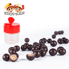 Premium cocoa candy biscuit ball dark compound chocolate for sale