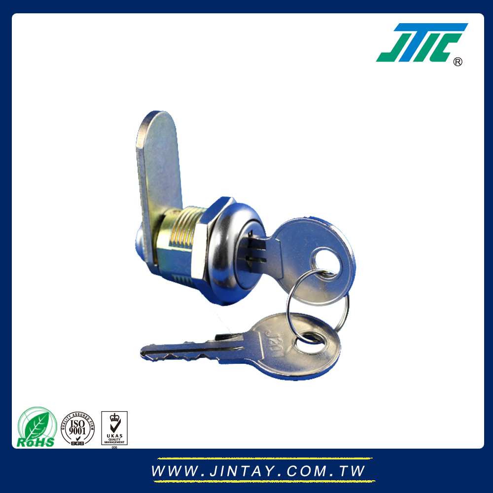 19mm Large Flat Cam Lock with 2 keys