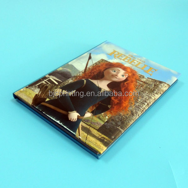 customized photo book printing / photo book make in China / CMYK color photo book printing