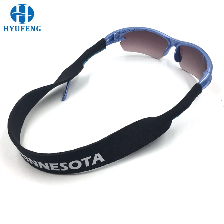 Wholesale Custom Printed Neoprene Sunglasses Neck Strap