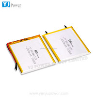 Low price high quality YJ 387490 battery gb t18287 2000 3.7v 2200mah