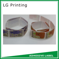 Hot sell adhesive security sticker custom labels with faster delivery