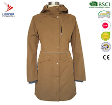 New fashionable women clothing ladies fitted elegant trench coat for spring and autumn