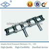 C212A C2060 standard steel double pitch chain with extended pin