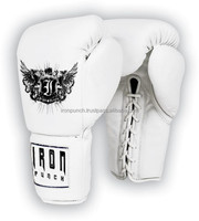 IRON PUNCH Boxing Gloves - Lace-Up