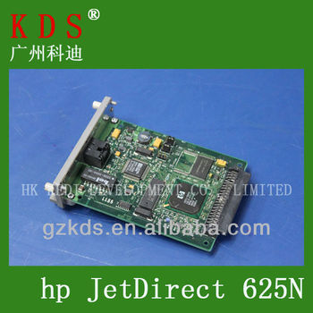 printer spare parts for HP Jetdirect 625n network card Gigabit Ethernet Print Server (J7960A) print spares