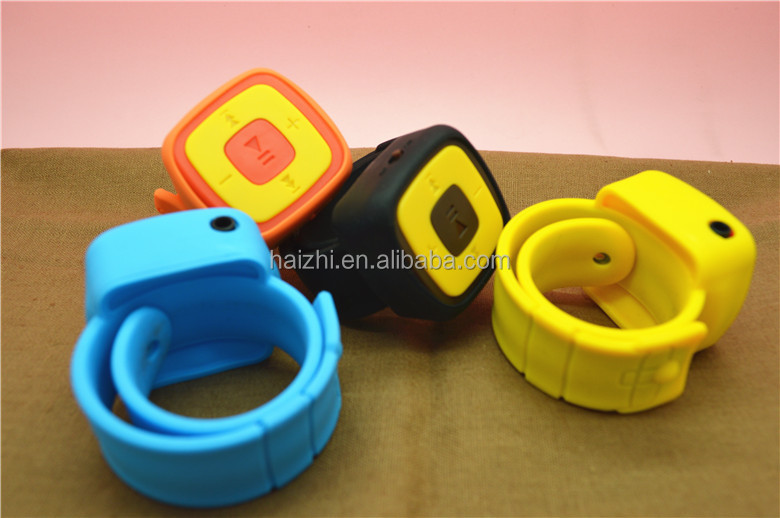 new model mp3 player wrist band watch sport mp3 music player