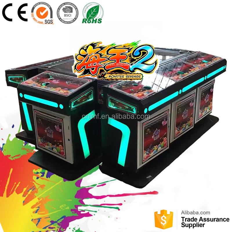 Pakistan popular fish and game table catching game machine