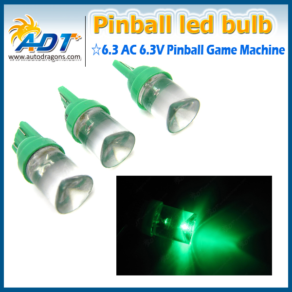 W5W 194 T10 wedge non-transparent 6V pinball led lamp
