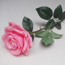 wholesale artificial flowers China description rose flower real touch moisture rose
