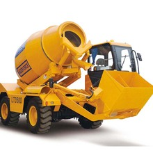Easy Control Self Loading Mobile Concrete Mixer LT3500
