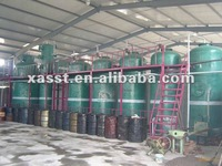 Waste oil recycling machine{Atmospheric Distillation}