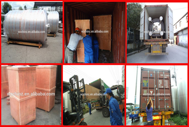 Tilting jacketed kettle boiler vessel