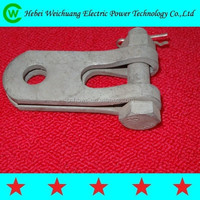 transmission line fittings galvanized steel clevis hinge