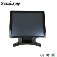Very strong vesa folding led touch monitor with metal stand