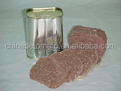 canned food corned beef, beef luncheon meat of 40% meat bulk food