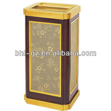 Luxury Cigarette Ground Ash Barrel For Lobby/ Outdoor floor ashtray/ground ash barrel/stainless steel ashtray bin GPX-8L