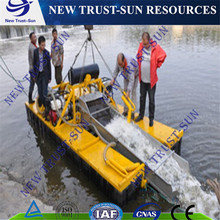 double pump mini gold mining dredger/boat with factory price