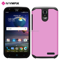 Slim Armor Serenity Rose Quartz Colorful PC+TPU Cover Case For ZTE Grand X3 Hard Back Cover Case