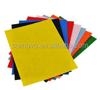 China manufacturer needle punched polyester felt sheets in roll