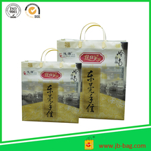 HDPE printing cheap handle plastic shopping bags wholesale