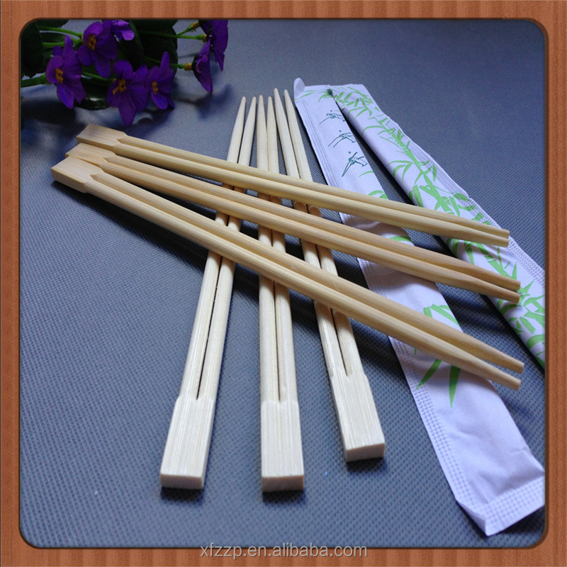 Cheapest disposable bamboo chopsticks with full paper sleeve